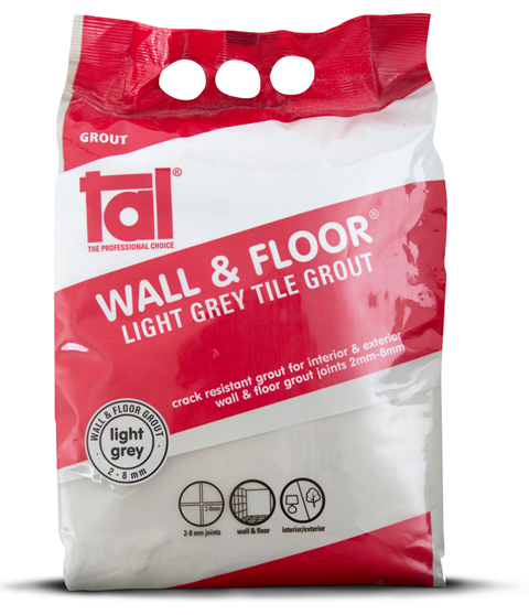 Tal Introduces New Grout Bag Packaging For Easy Colour Matching
