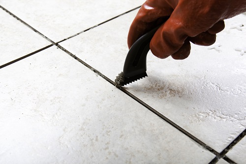 What to do about soft crumbling grout ppazfo